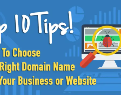 How to choose a good domain name?