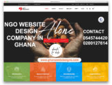 NGO Website design company in Ghana, Accra